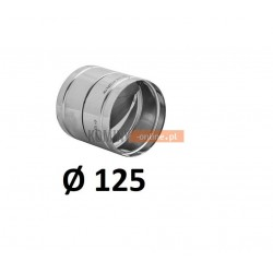 Metalowy zawór zwrotny 125 mm