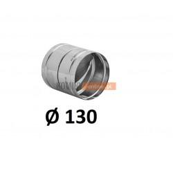 Metalowy zawór zwrotny 130 mm