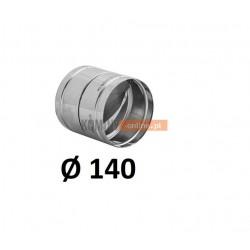 Metalowy zawór zwrotny 140 mm