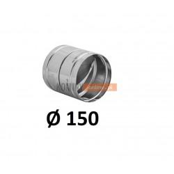 Metalowy zawór zwrotny 150 mm