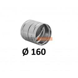 Metalowy zawór zwrotny 160 mm