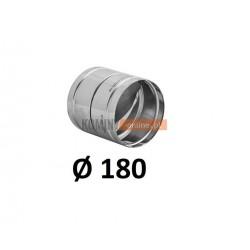 Metalowy zawór zwrotny 180 mm