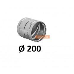 Metalowy zawór zwrotny 200 mm