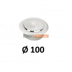 Anemostat 100 mm nawiewny