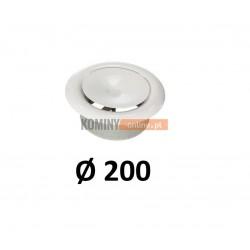 Anemostat 200 mm nawiewny