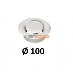 Anemostat 100 mm wywiewny