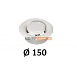 Anemostat 150 mm wywiewny