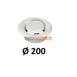 Anemostat 200 mm wywiewny