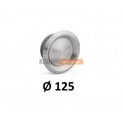 Anemostat 125 mm nawiewno-wywiewny nierdzewny