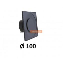 Anemostat kwadratowy 100 mm