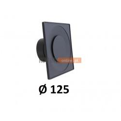 Anemostat kwadratowy 125 mm