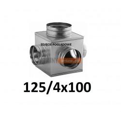 Skrzynka rozprężna 125-4x100 mm