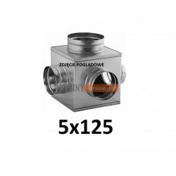 Skrzynka rozprężna 5x125 mm