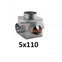 Skrzynka rozprężna 5x110 mm