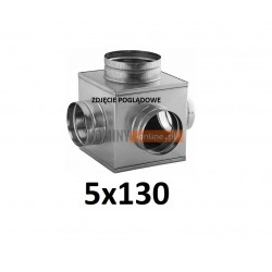Skrzynka rozprężna 5x130 mm