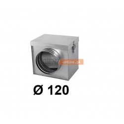 Filtr powietrza metalowy 120 mm