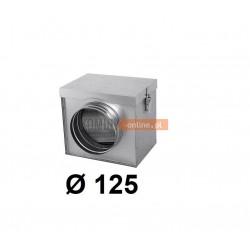 Filtr powietrza metalowy 125 mm