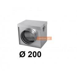 Filtr powietrza metalowy 200 mm