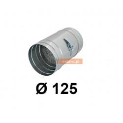 Kanałowy filtr metalowy 125 mm