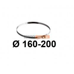 Opaska zaciskowa 160-200 mm