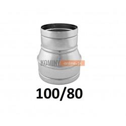Redukcja spiro 100-80 mm