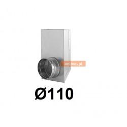 Redukcja prostokąt koło 150x50-110 mm
