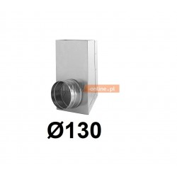 Redukcja prostokąt koło 150x50-130 mm