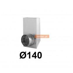 Redukcja prostokąt koło 150x50-140 mm