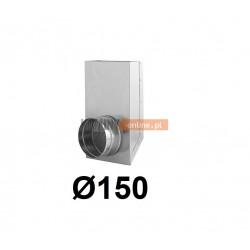 Redukcja prostokąt koło 150x50-150 mm