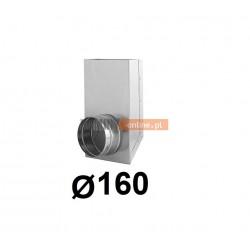 Redukcja prostokąt koło 150x50-160 mm