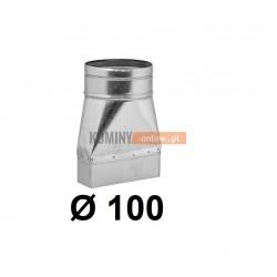 Redukcja prostokąt koło 100-150x50 mm