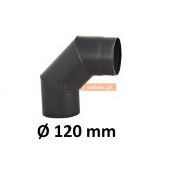 Kolano kominowe żaroodporne 120 mm 90 stopni