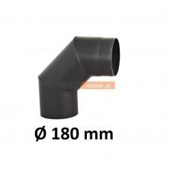 Kolano kominowe żaroodporne 180 mm 90 stopni