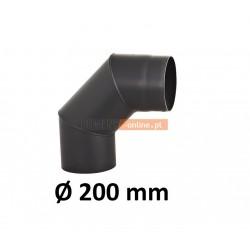 Kolano kominowe żaroodporne 200 mm 90 stopni