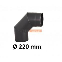 Kolano kominowe żaroodporne 220 mm 90 stopni