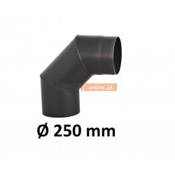 Kolano kominowe żaroodporne 250 mm 90 stopni