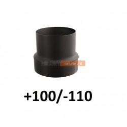 Redukcja do komina zwiększająca +100/-110 CZARNA