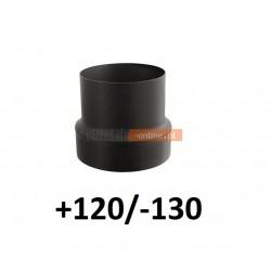 Redukcja do komina zwiększająca +120/-130 CZARNA