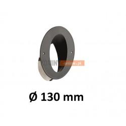 Wkładka kominowa kątowa 130 mm ze sznurem CZARNA