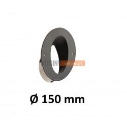 Wkładka kominowa kątowa 150 mm ze sznurem CZARNA