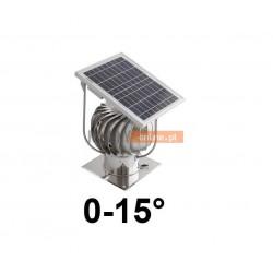 Turbowent z panelem fotowoltaicznym