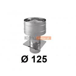Wywietrzak cylindryczny 125 mm CHROM