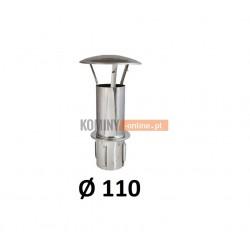 Daszek kominowy wysoki 110 do ceramiki CHROM