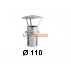 Daszek niski do komina ceramicznego 110 mm OCYNK