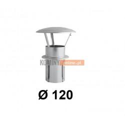 Daszek niski do komina ceramicznego 120 mm OCYNK