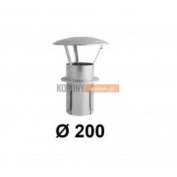 Daszek niski do komina ceramicznego 200 mm OCYNK