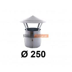 Daszek niski do komina ceramicznego 250 mm OCYNK