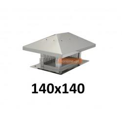 Osłona na komin 140x140 mm z siatką