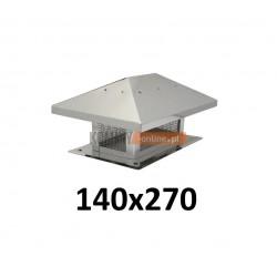 Osłona na komin 140x270 mm z siatką