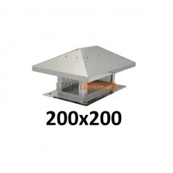 Osłona na komin 200x200 mm z siatką